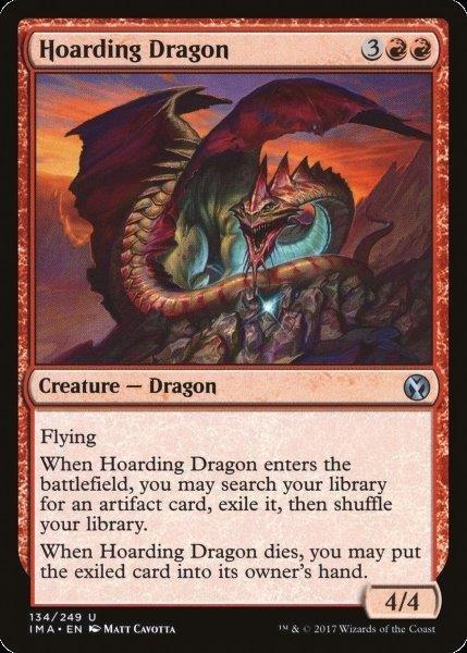 Hoarding Dragon - Magic: THe Gathering Card
