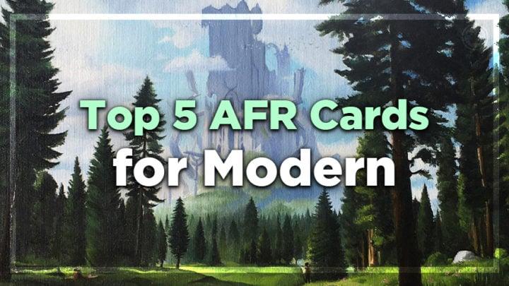Top 5 AFR Cards for Modern