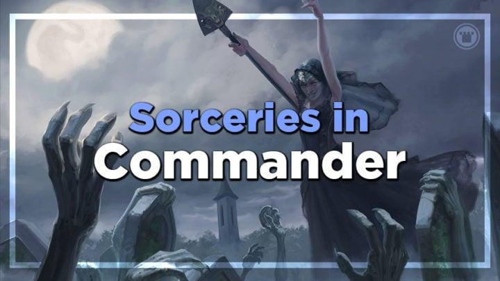sorceries in commander
